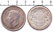 Изображение Монеты Канада 50 центов 1944 Серебро XF Георг VI