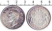 Изображение Монеты Канада 50 центов 1943 Серебро XF Георг VI