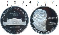 Изображение Монеты США 1 доллар 1993 Серебро Proof-