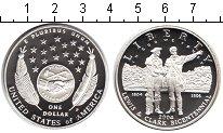 Изображение Монеты США 1 доллар 2004 Серебро Proof- Левис и Кларк