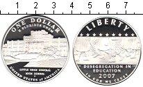 Изображение Монеты США 1 доллар 2007 Серебро Proof-