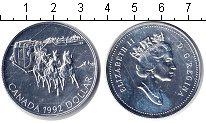 Изображение Монеты Канада 1 доллар 1992 Серебро UNC- Елизавета II.