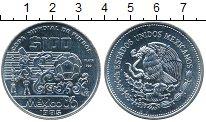 Изображение Монеты Мексика 100 песо 1985 Серебро UNC- Мехико 86