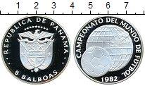 Изображение Монеты Панама 5 бальбоа 1982 Серебро Proof-