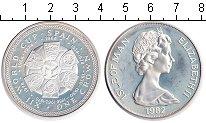 Изображение Монеты Остров Мэн 1 крона 1982 Серебро Proof- Елизавета II