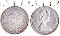 Изображение Монеты Великобритания Остров Мэн 1 крона 1982 Серебро UNC-