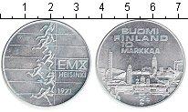 Изображение Монеты Финляндия 10 марок 1971 Серебро UNC- Хельсинки 1971