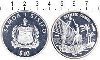 Изображение Монеты Самоа 10 тала 2000 Серебро Proof Олимпиада-2000 в Сид