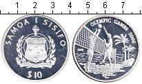 Изображение Монеты Самоа 10 тала 2000 Серебро Proof
