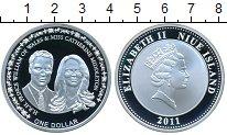 Изображение Монеты Новая Зеландия Ниуэ 1 доллар 2011 Серебро Proof-