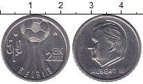 Изображение Мелочь Бельгия 50 франков 2000 Медно-никель XF+