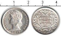 Изображение Мелочь Португалия 10 сентаво 1915 Серебро UNC-