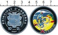 Изображение Монеты Андорра 10 динерс 2007 Серебро Proof-