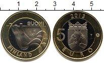 Изображение Мелочь Финляндия 5 евро 2013 Биметалл UNC- .