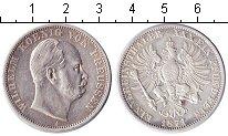 Изображение Монеты Пруссия 1 талер 1871 Серебро VF Вильгельм