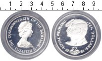 Изображение Монеты Багамские острова 10 долларов 1981 Серебро Proof-