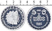 Изображение Монеты Египет 5 фунтов 1988 Серебро Proof-