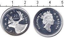 Изображение Монеты Канада 25 центов 2003 Серебро Proof- Елизавета II