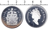 Изображение Монеты Канада 50 центов 2003 Серебро Proof- Елизавета II