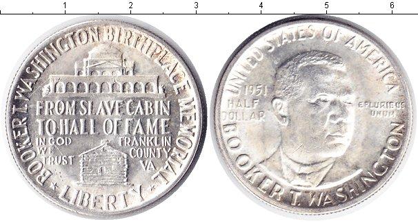 Картинка Монеты США 1/2 доллара Серебро 1946