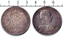 Изображение Монеты Германия Пруссия 3 марки 1913 Серебро XF