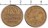 Изображение Монеты Данциг 10 пфеннигов 1932  XF