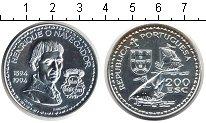 Изображение Монеты Португалия 200 эскудо 1994 Серебро UNC Генрих Мореплаватель
