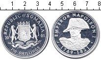 Изображение Монеты Сомали 250 шиллингов 2001 Серебро Proof- Наполеон I