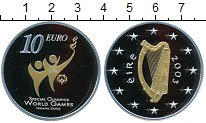 Изображение Монеты Ирландия 10 евро 2003 Серебро Proof