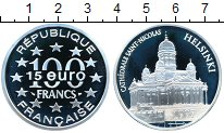 Изображение Монеты Франция 100 франков 1997 Серебро Proof-