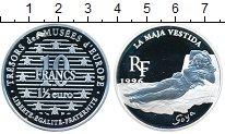 Изображение Монеты Франция 10 франков 1996 Серебро Proof- 1 1/2 евро