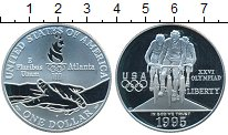 Изображение Монеты США 1 доллар 1995 Серебро Proof- XXVI Олимпиада
