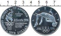 Изображение Монеты США 1 доллар 1996 Серебро Proof- XXVI Олимпиада