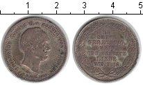 Изображение Монеты Саксония 1/3 талера 1854 Серебро XF Посмертные