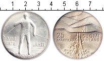 Изображение Монеты Финляндия 25 марок 1978 Серебро UNC-