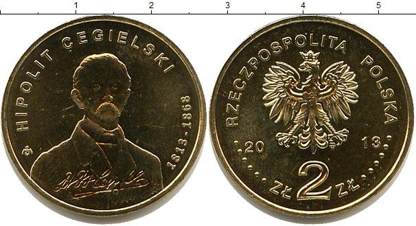 Картинка Мелочь Польша 2 злотых  2013