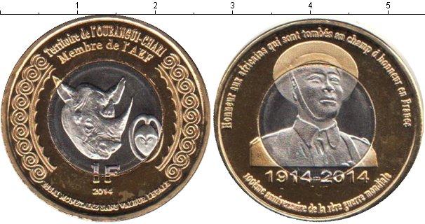 Картинка Мелочь Экваториальные Африканские территории 1 франк Биметалл 2014