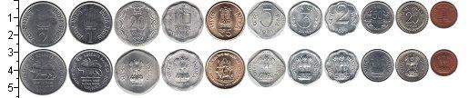 Изображение Наборы монет Индия Индия 1961-2011 0  UNC-