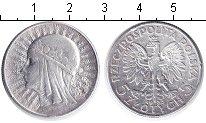 Изображение Монеты Польша 5 злотых 1933 Серебро