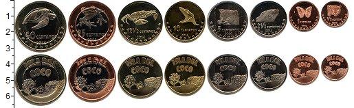 Изображение Наборы монет Остров Кокос Остров Кокос 2014 2014  UNC- В наборе 8 монет ном
