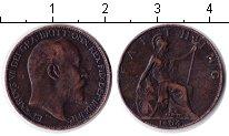 Изображение Монеты Великобритания 1 фартинг 1904 Медь VF