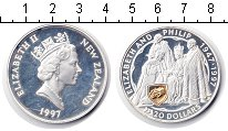 Изображение Монеты Новая Зеландия 20 долларов 1997 Серебро Proof-