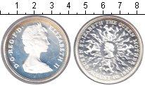 Изображение Монеты Великобритания 25 пенсов 1980 Серебро Proof 80-летие королевы-ма