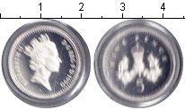 Изображение Монеты Великобритания 5 пенсов 1990 Серебро Proof-