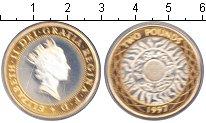 Изображение Монеты Великобритания 2 фунта 1997 Биметалл Proof Елизавета II