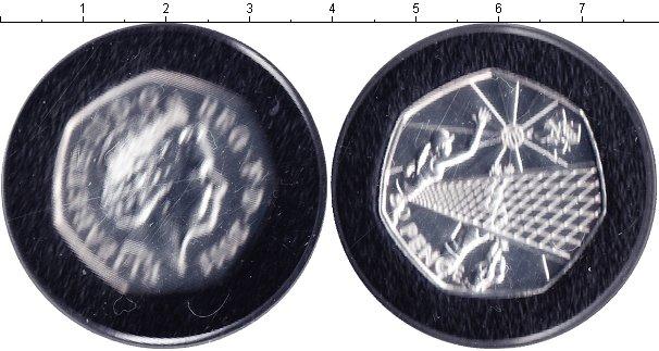Картинка Монеты Великобритания 50 пенсов Серебро 2011