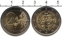 Изображение Мелочь Словакия 2 евро 2013 Биметалл UNC-