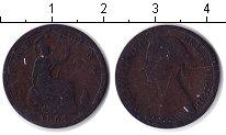Изображение Монеты Великобритания 1 фартинг 1861 Медь VF