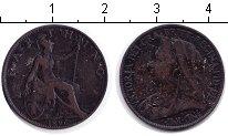 Изображение Монеты Великобритания 1 фартинг 1896 Медь VF