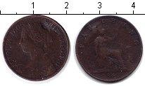 Изображение Монеты Великобритания 1 фартинг 1862 Медь VF